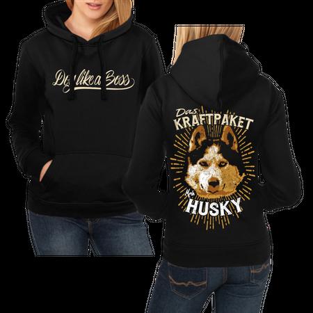 Frauen Kapu Siberian Husky - Das Kraftpaket
