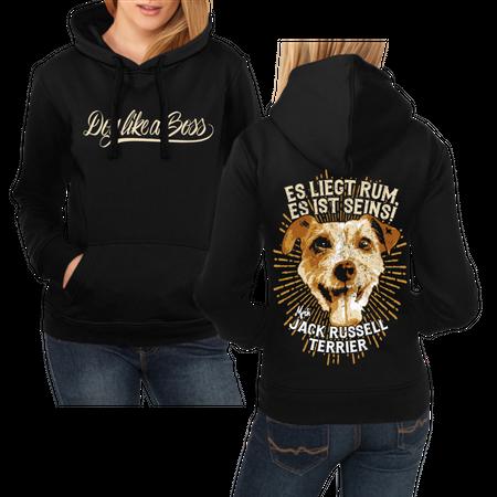 Frauen Kapu Jack Russell Terrier - es liegt rum, es ist seins