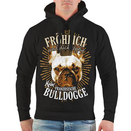 Männer Kapu Französische Bulldogge - fröhlich und dickköpfig
