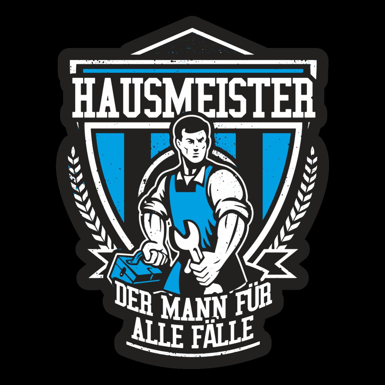 Aufkleber Wetterfest Hausmeister 13 oder 40cm Geschenk Handwerker ...