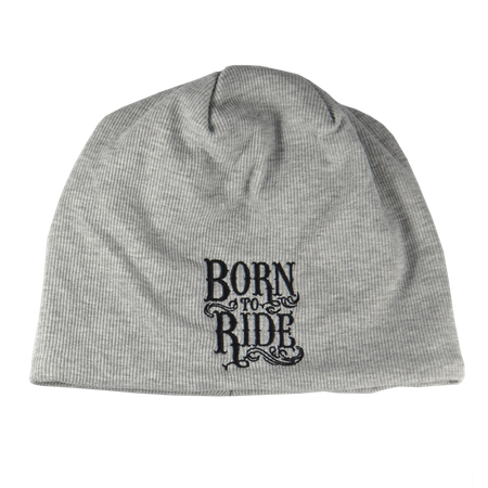 Wollmütze mit Fleece Born to Ride