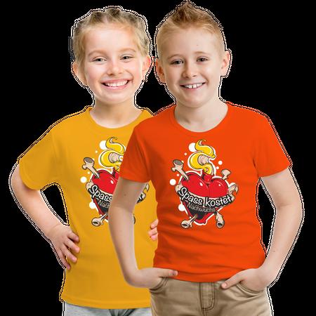 Kinder T-Shirt Spass kostet NACHWUCHS