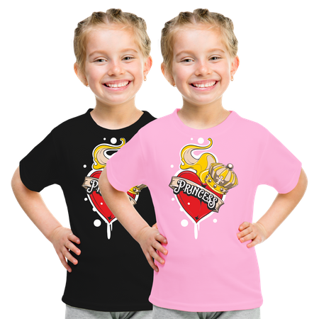 Kinder T-Shirt Kleine Princess