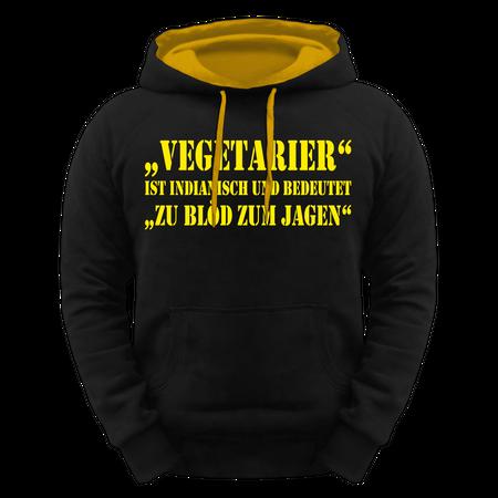 Männer Kapu Vegetarier - zu Blöd zum Jagen