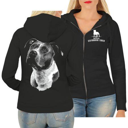 Frauen Kapujacke American Staffordshire Terrier  BOSS