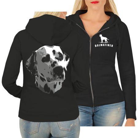 Frauen Kapujacke Dalmatiner