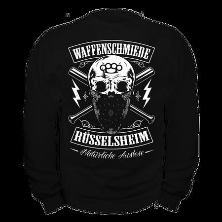Männer Sweatshirt Waffenschmiede Rüsselsheim