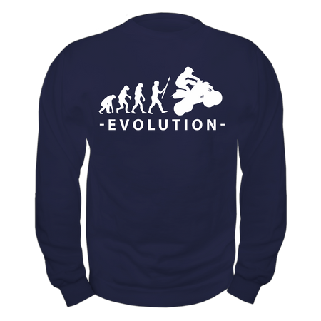 Männer Sweatshirt Evolution Quad