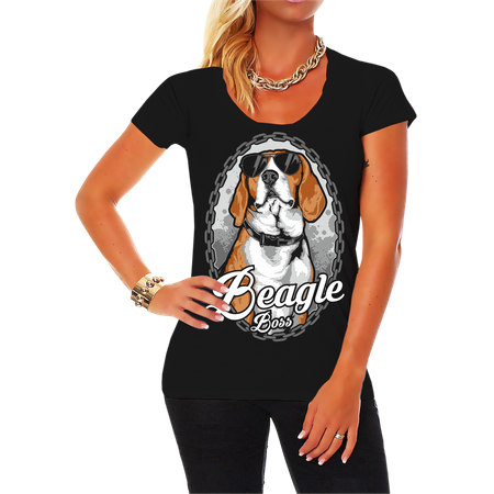 Frauen Shirt Beagle SOMMER