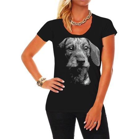 Frauen Shirt Dackel BOSS