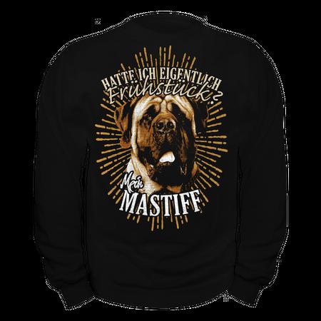 Männer Sweatshirt Mastiff - Hatte ich eigentlich Frühstück
