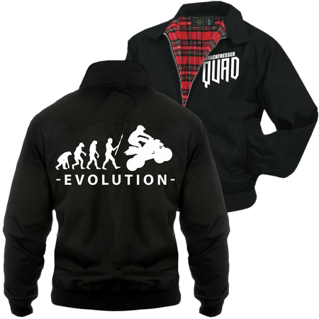 Männer Harrington Jacke Evolution Quad