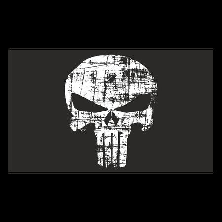 Fahne Totenkopf