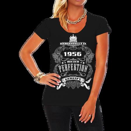 Frauen Shirt Bis zur Perfektion gereift 1956