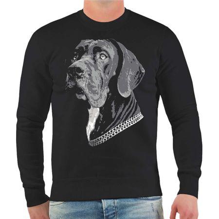 Männer Sweatshirt Deutsche Dogge BOSS