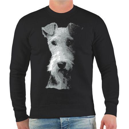 Männer Sweatshirt Foxterrier BOSS