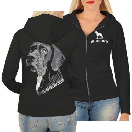 Frauen Kapujacke Deutsche Dogge BOSS