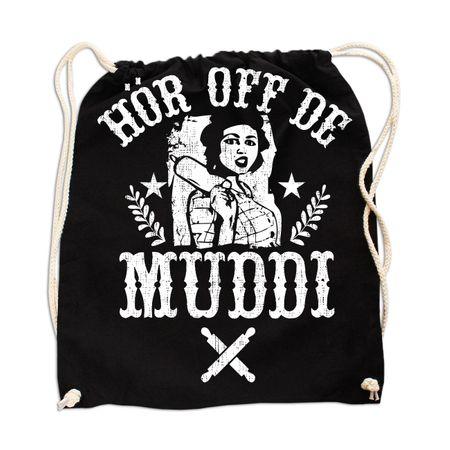 Rucksack Hör off de Muddi