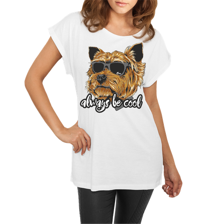 Frauen lässiges Shirt Yorkshire Terrier always be cool