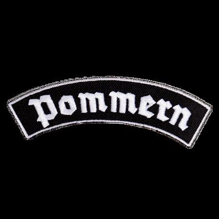 Bügel Aufnäher Pommern