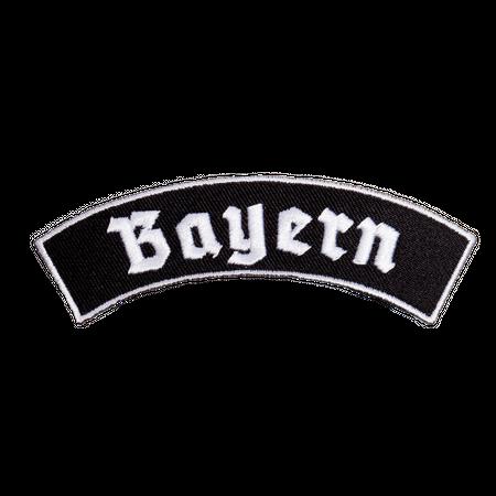 Bügel Aufnäher Bayern