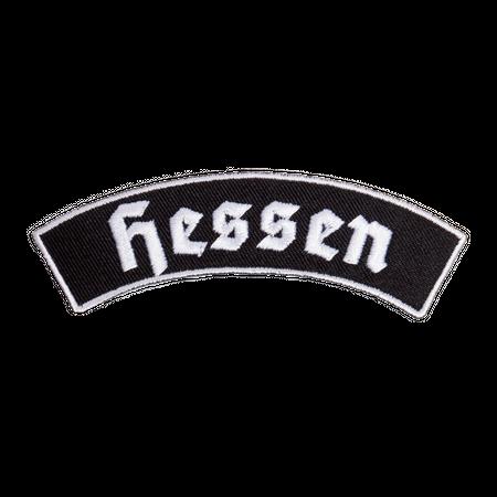 Bügel Aufnäher Hessen