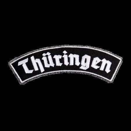 Bügel Aufnäher Thüringen