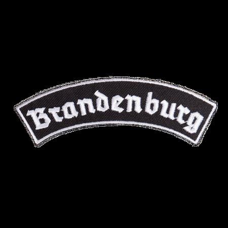 Bügel Aufnäher Brandenburg