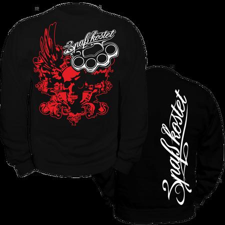 Männer Sweatshirt Spass kostet Death Head