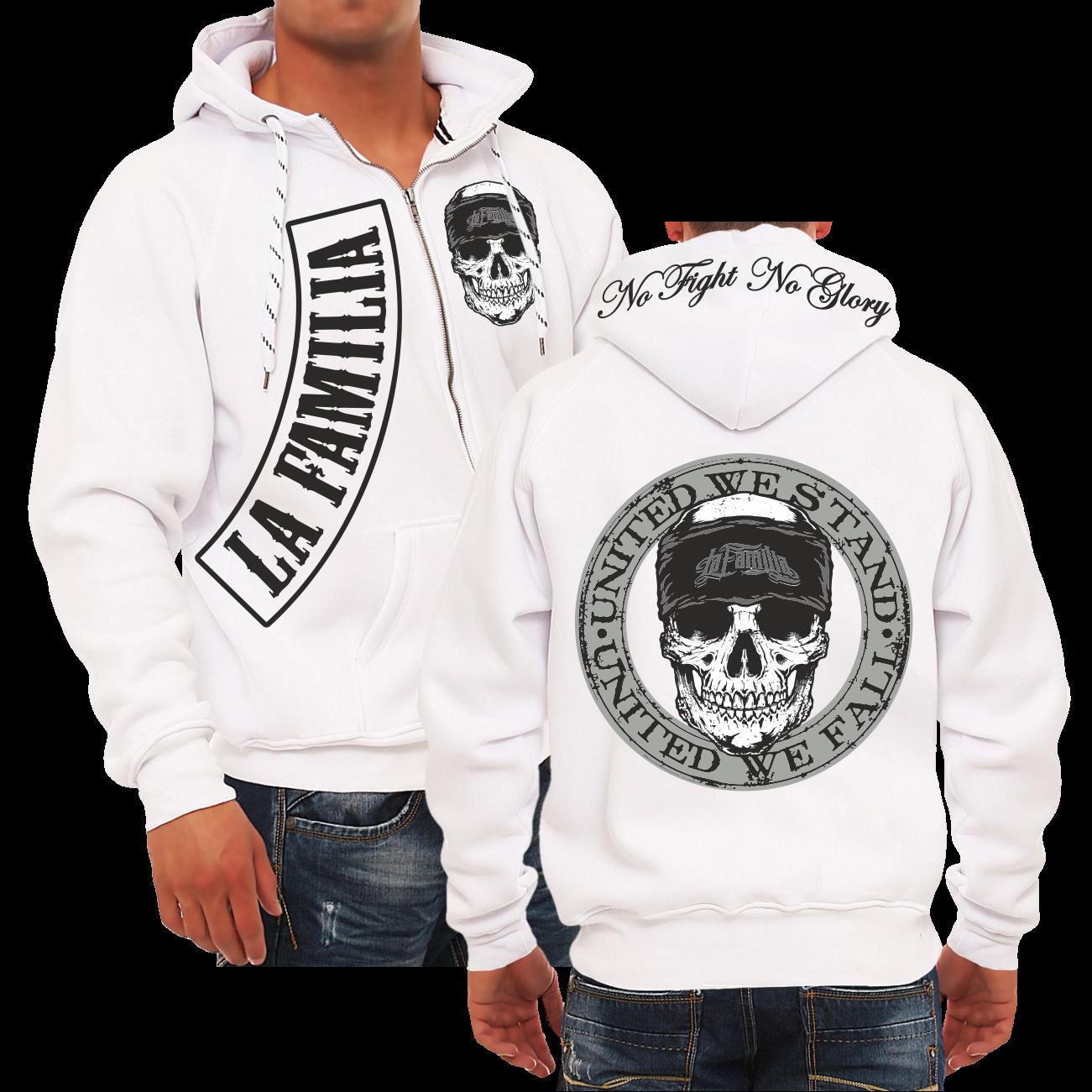 Kapuzensweat Kapuzensweat Kapuzensweat veste Hooded zip la Familia united we stand Criminal front Hardcore c9c15b