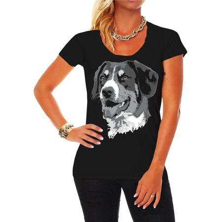 Frauen Shirt Großer Schweizer Sennenhund