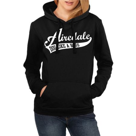 Frauen Kapu Airedale Terrier BOSS