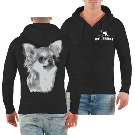 Männer Kapuzenjacke Chihuahua BOSS