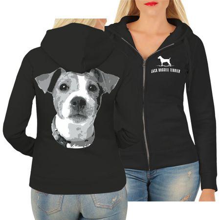 Frauen Kapujacke Jack Russell Terrier BOSS