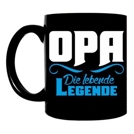 Tasse Opa die lebende Legende