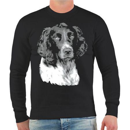 Männer Sweatshirt Deutscher Wachtelhund