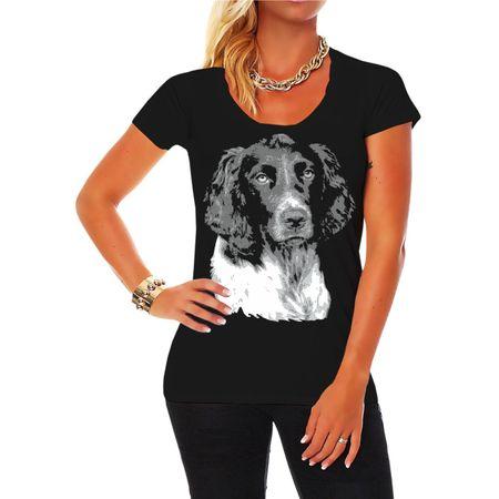 Frauen Shirt Deutscher Wachtelhund BOSS