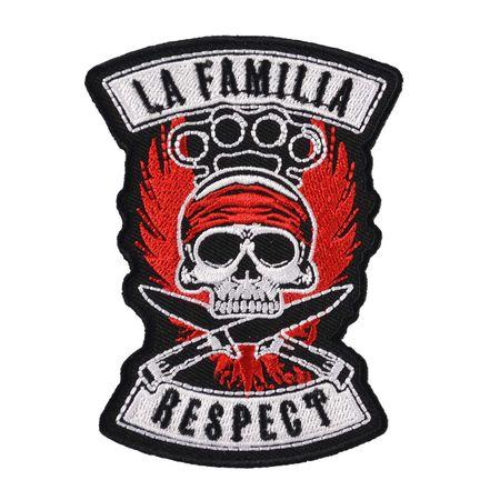 Bügel Aufnäher  La Familia RESPECT