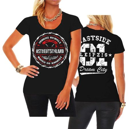 Frauen Shirt Ostdeutschland Leipzig