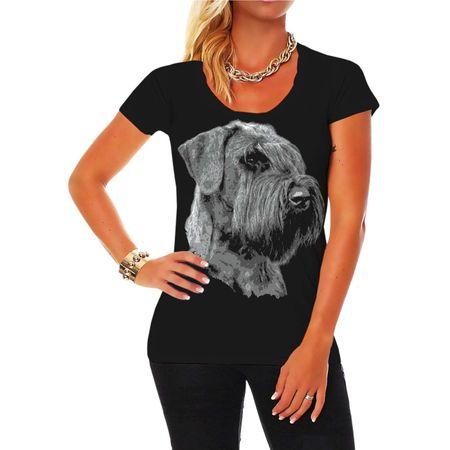 Frauen Shirt Riesenschnauzer BOSS