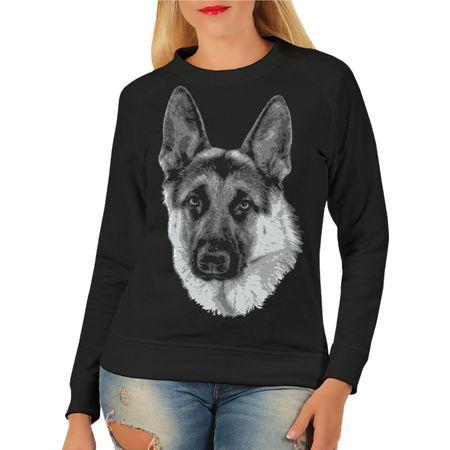 Frauen Sweatshirt Deutscher Schäferhund BOSS