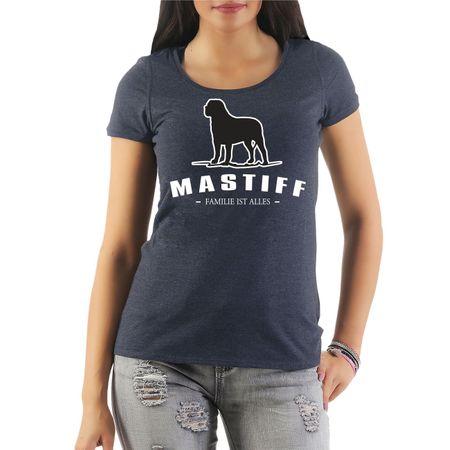 Frauen Shirt Mastiff - Familie ist alles