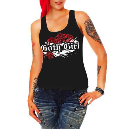 Frauen Trägershirt Goth Girl
