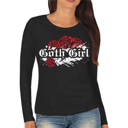 Frauen Longsleeve Goth Girl