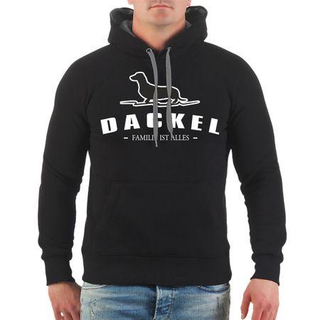 Männer Kapu Dackel - Familie ist alles