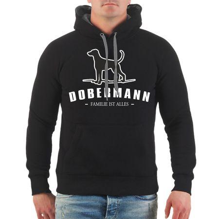 Männer Kapu Dobermann - Familie ist alles