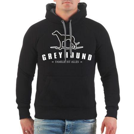 Männer Kapu Greyhound - Familie ist alles