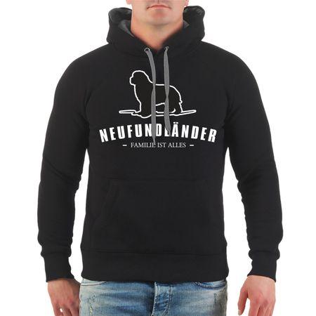 Männer Kapu Neufundländer - Familie ist alles