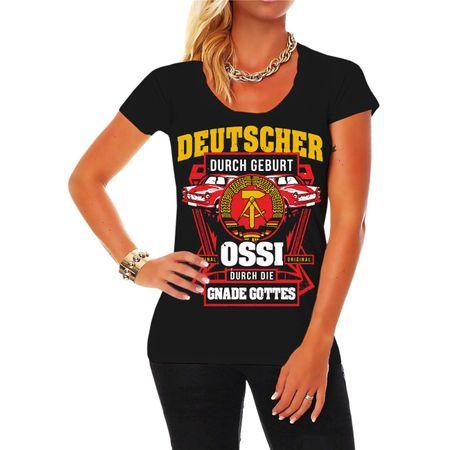 Frauen Shirt Ossi durch Gnaden Gottes