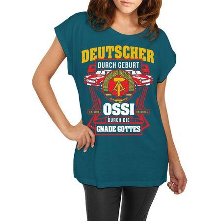 Frauen lässiges Shirt Ossi durch Gnaden Gottes